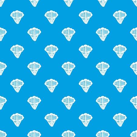 Salad pattern vector seamless blue Illustration