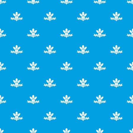 Beet pattern vector seamless blue Illusztráció