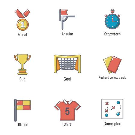 Cup icons set. Flat set of 9 cup vector icons for web isolated on white background
