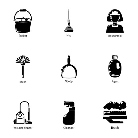 Wipe Away Icons Set Simple Set Of 9 Wipe Away Vector Icons