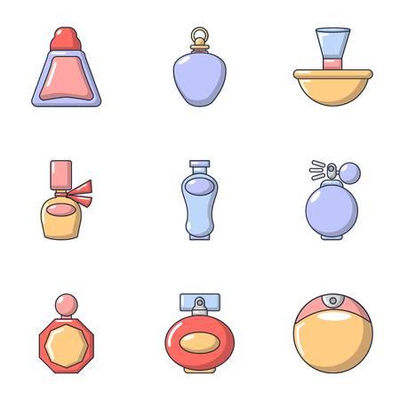 Zilch icons set, flat style