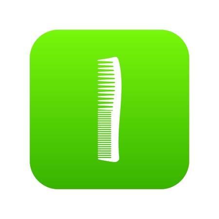 Small comb icon green