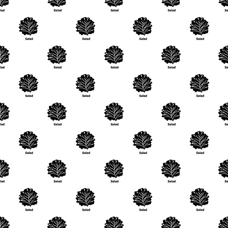 Salad pattern vector seamless repeating for any web design Ilustracja