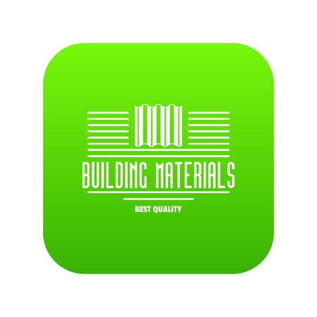 Best quality icon green vector