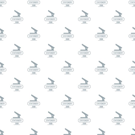 Stapler pattern vector seamless