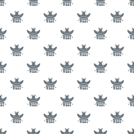 West pattern vector seamless