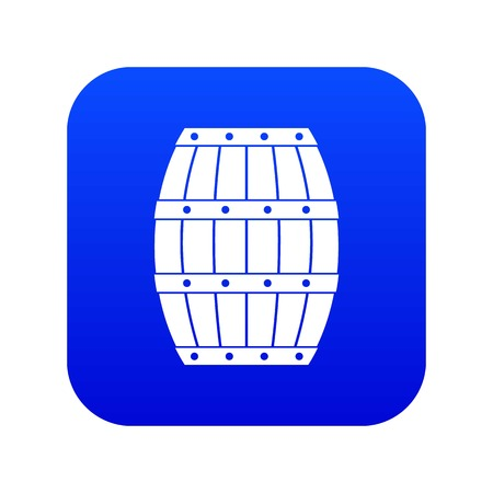Barrel icon digital blue
