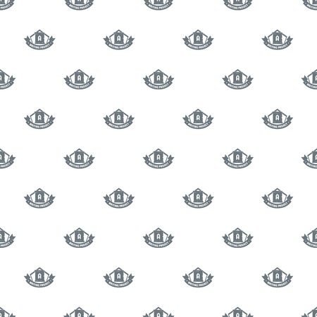 Writing project pattern vector seamless