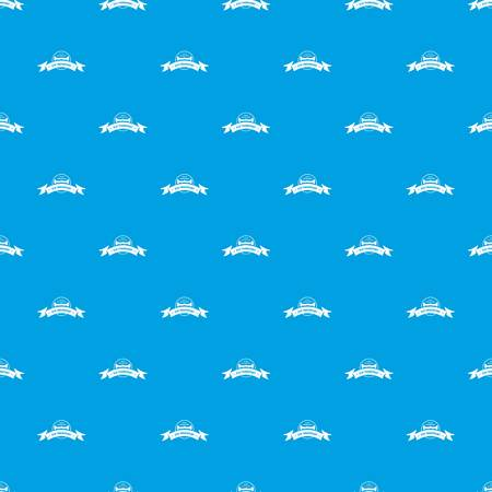 Eco gyro scooter pattern vector seamless blue