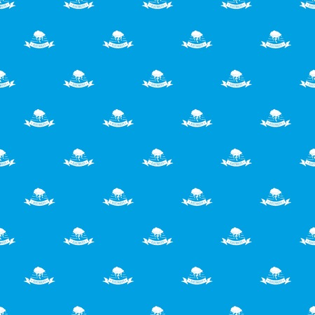 Wind energy pattern vector seamless blue