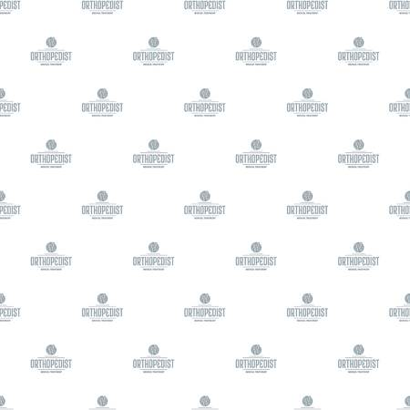 Medical treatment pattern vector seamless