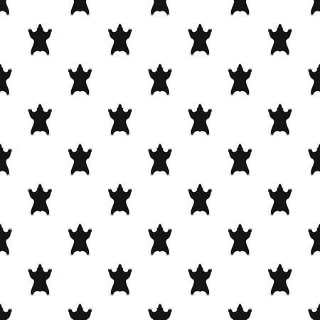 Bear skin pattern vector seamless 向量圖像