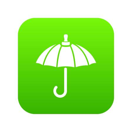Parasol icon green