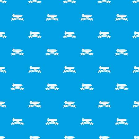 Trip dirigible pattern vector seamless blue repeat for any use Illustration