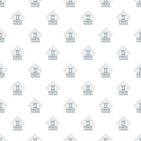 Pirate pattern vector seamless
