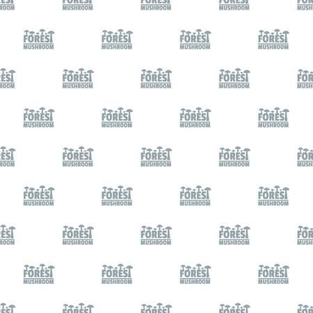 Mushroom pattern vector seamless