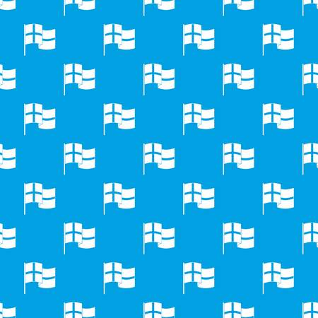 Holland flag pattern vector seamless blue