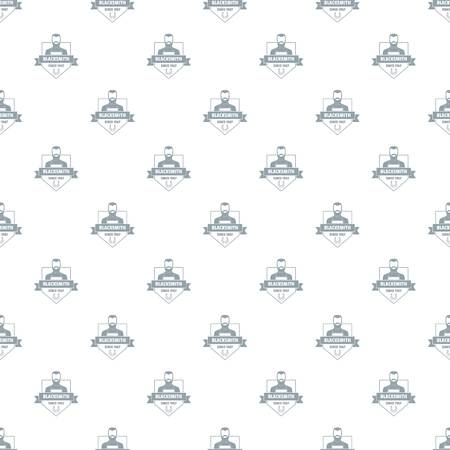 Metalwork pattern vector seamless