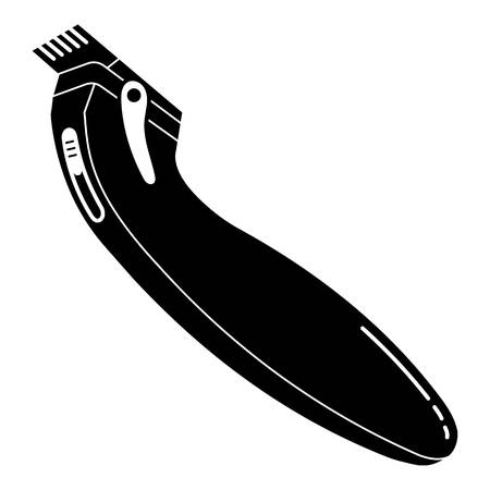 Modern hair clipper icon. Simple illustration of modern hair clipper vector icon for web design isolated on white background