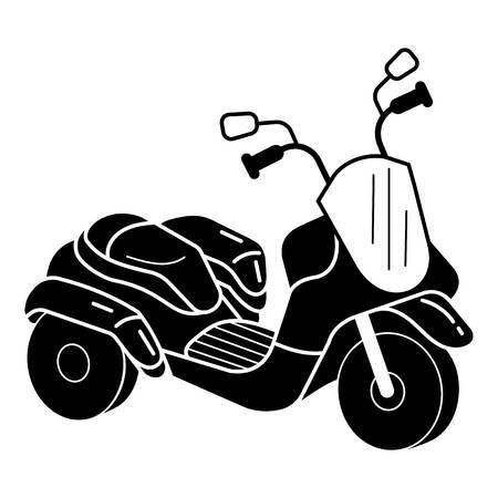 Kid driewieler pictogram. Eenvoudige illustratie van jong geitje driewieler vector pictogram voor webdesign geïsoleerd op een witte achtergrond