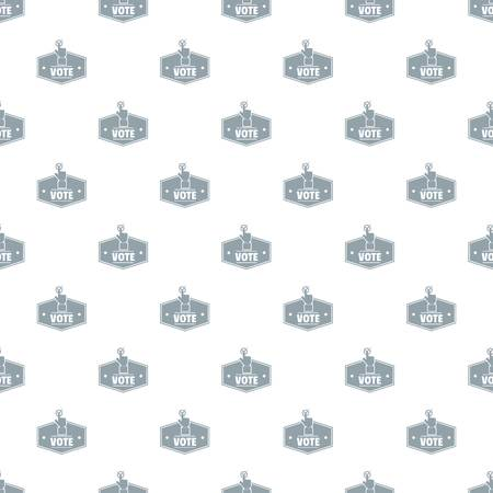 Vote pattern vector seamless