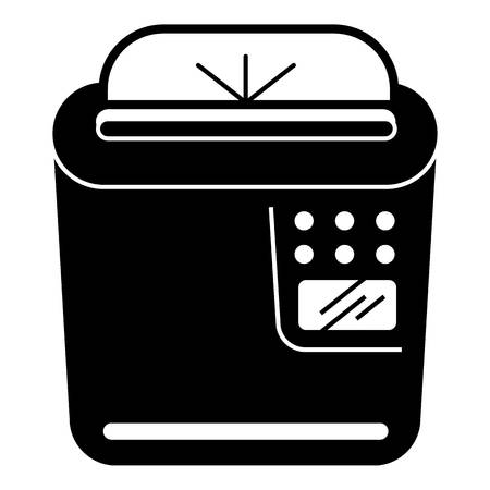 Home printer icon. Simple illustration of home printer vector icon for web design isolated on white background