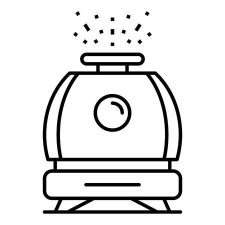 Humidifier icon, outline style Illustration
