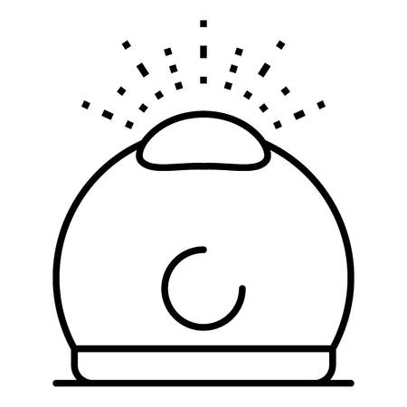 Humidifier aromatherapy icon, outline style 向量圖像