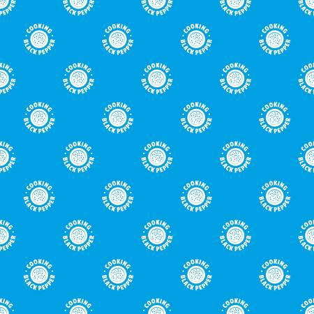 Black pepper pattern vector seamless blue repeat for any use
