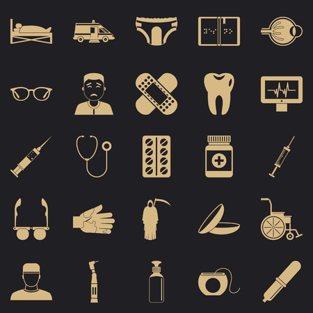 Care of relatives icons set. Simple set of 25 care of relatives vector icons for web for any design