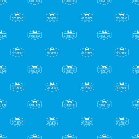 cinnamon pattern vector seamless blue Illustration