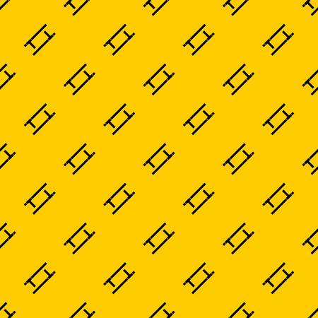 Tonfa pattern seamless vector repeat geometric yellow for any design