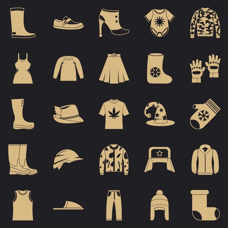 Purchase of accessories icons set. Simple set of 25 purchase of accessories vector icons for web for any design