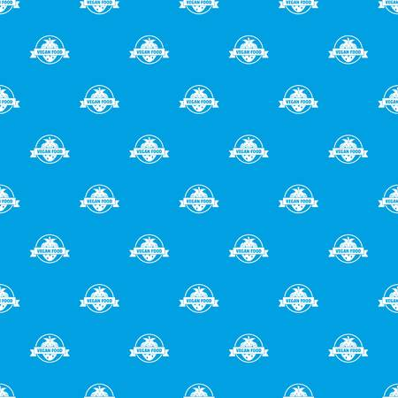Strawberry pattern vector seamless blue repeat for any use Illustration
