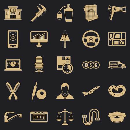 Transport department icons set. Simple set of 25 transport department vector icons for web for any design