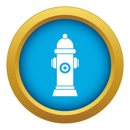 Hydrant icon blue vector isolated on white background for any design Banque d'images - 125075867