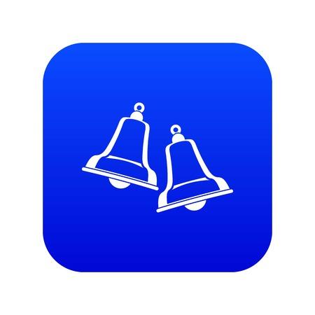 Bells icon digital blue