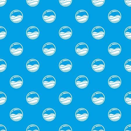 Aqua window pattern vector seamless blue
