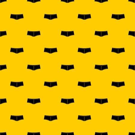 Boy shorts pattern vector Illustration