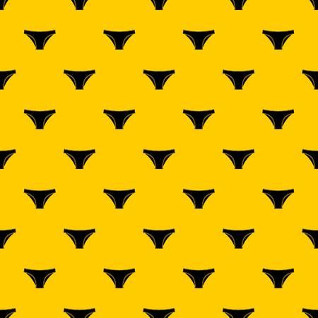 Female cotton panties pattern vector Stock Vector - 118661785