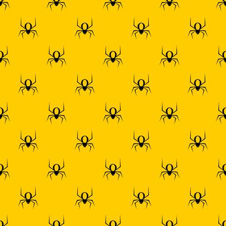 Spider pattern seamless vector repeat geometric yellow for any design