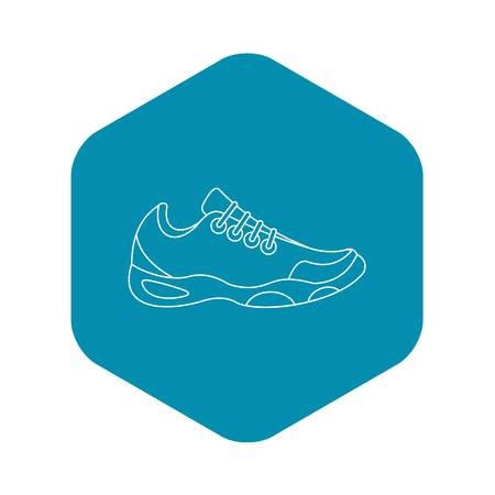 Sneakers for tennis icon. Outline illustration of sneakers for tennis vector icon for web 向量圖像