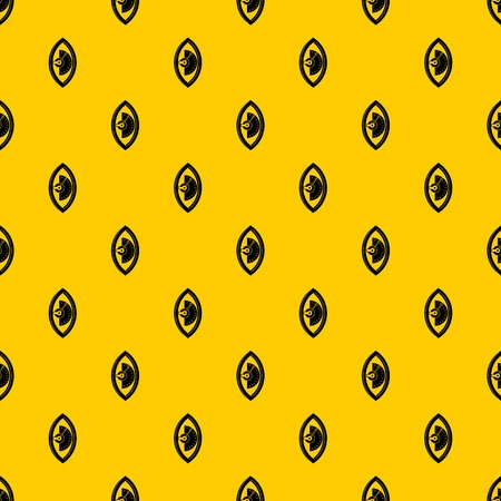 Hand power meter pattern seamless vector repeat geometric yellow for any design