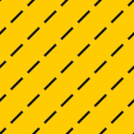 Ruler pattern seamless vector repeat geometric yellow for any design