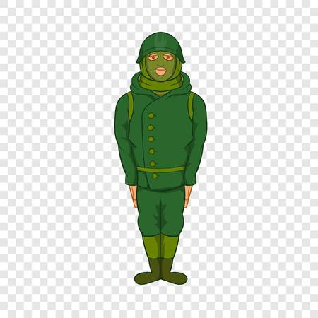 Green military camouflage uniform icon 向量圖像