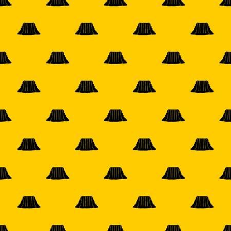 Niagara Falls pattern seamless vector repeat geometric yellow for any design Ilustração