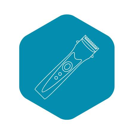 Clipper icon. Outline illustration of clipper vector icon for web Illustration