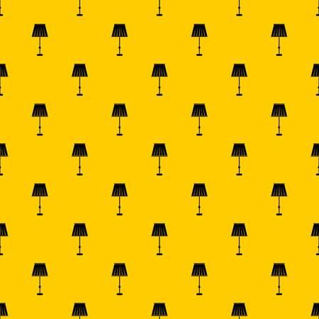 Floor lamp pattern vector