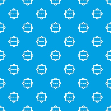 Lock retro pattern vector seamless blue repeat for any use
