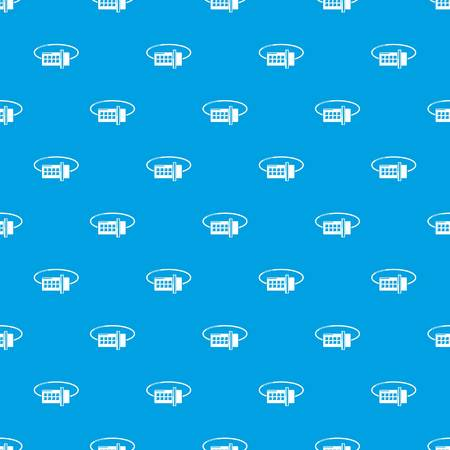 Lock code pattern vector seamless blue repeat for any use